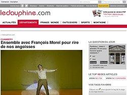 Ensemble avec François Morel pour rire de nos angoisses