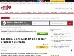 Dionysus in 69, ciné-concert orgiaque à Stereolux