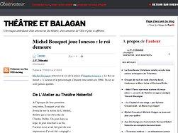 Michel Bouquet joue Ionesco : le roi demeure