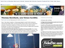 Thomas Bernhard, une féroce lucidité.