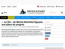 «  Le fils » de Marine Bachelot Nguyen, une pièce de progrès