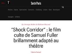 Le film culte de Samuel Fuller brillamment adapté au théâtre