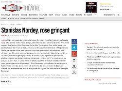Stanislas Nordey, rose grinçant