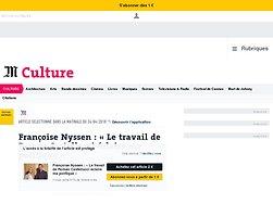 Françoise Nyssen: «Le travail de Castellucci éclaire ma politique»