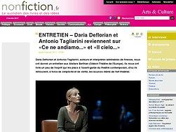 Entretien : – Daria Deflorian et Antonio Tagliarini