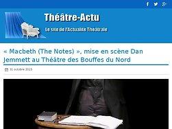 Le « théâtre de la distorsion » revisite Shakespeare