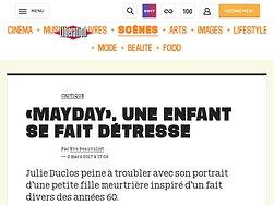« MayDay », une enfant se fait détresse