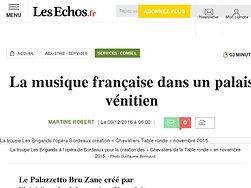 La musique française dans un palais vénitien