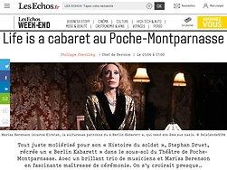 Life is a cabaret au Poche-Montparnasse