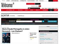Marie-Claude Pietragalla et Julien Derouault - Les Chaises?