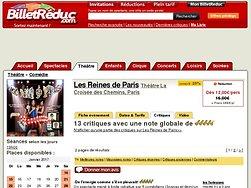 Critiques et Avis Les Reines de Paris | BilletReduc.com