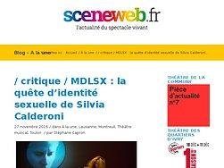La quête d'identité sexuelle de Silvia Calderoni