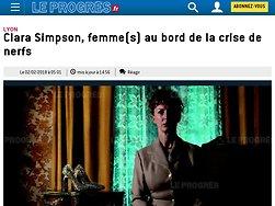 Clara Simpson, Femme( s) au bord de la crise de nerfs