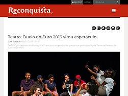 Duelo do Euro 2016 virou espetáculo