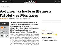 crise brésilienne à l'Hôtel des Monnaies