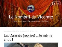 Les Damnés (reprise) … le même choc !