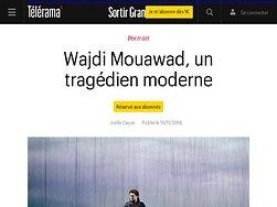Wajdi Mouawad, un tragédien moderne