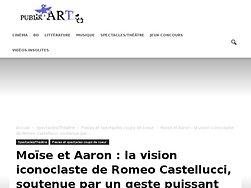 La vision iconoclaste de Romeo Castellucci