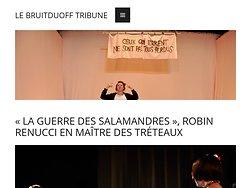 «La Guerre des salamandres», Robin Renucci en maitre des tréteaux