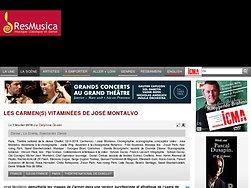 Les Carmen(s) vitaminées de José Montalvo