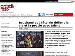 Bouchaud et Châtelain défient la vie et la poésie avec talent