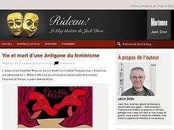 Vie et mort d'une Antigone du féminisme
