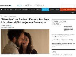 """""""Bérénice"""" de Racine : l'amour fou face à la raison d'Etat"""
