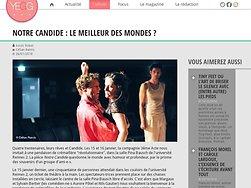 Notre Candide : Le meilleur des mondes ?