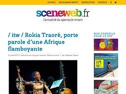 Rokia Traoré, porte parole d'une Afrique flamboyante