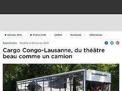 Cargo Congo-Lausanne, du théâtre beau comme un camion