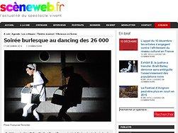 Soirée burlesque au dancing des 26 000