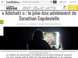 «Adishatz»: le juke-box adolescent de Jonathan Capdevielle