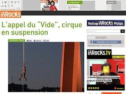"L'appel du ""Vide"", cirque en suspension"