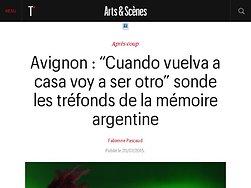Les tréfonds de la mémoire argentine