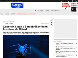Baryshnikov dans les rêves de Nijinski