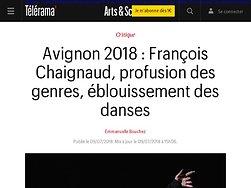François Chaignaud, profusion des genres, éblouissement des danses