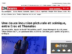 Une douce incursion picturale et scénique, entre Eros et Thanatos