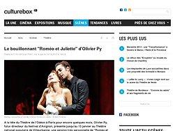 """Le bouillonnant """"Roméo et Juliette"""" d'Olivier Py"""