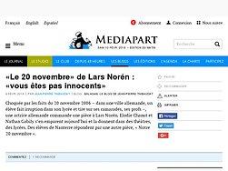 «Le 20 novembre» de Lars Norén : «vous êtes pas innocents»