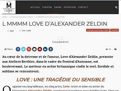 Love : Une tragédie du sensible