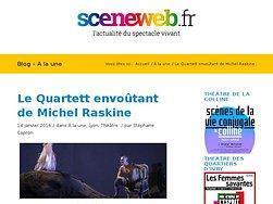 Le Quartett envoûtant de Michel Raskine