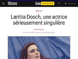 Lætitia Dosch, une actrice sérieusement singulière
