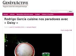 Rodrigo García cuisine nos paradoxes avec « Daisy »