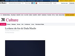 La danse du feu de Dada Masilo