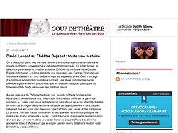 David Lescot au Théâtre Dejazet : toute une histoire