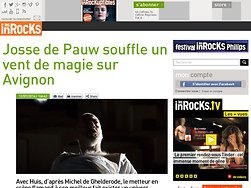 Josse de Pauw souffle un vent de magie sur Avignon