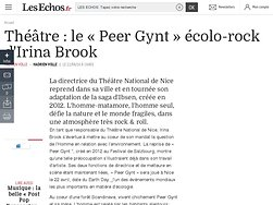 Le « Peer Gynt » écolo-rock d'Irina Brook