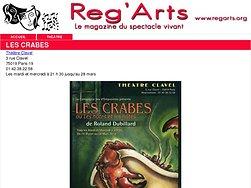 Les Crabes au Théâtre Clavel