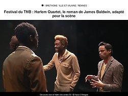 Harlem Quartet, le roman de James Baldwin, adapté pour la scène