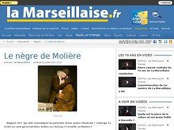 Le nègre de Molière